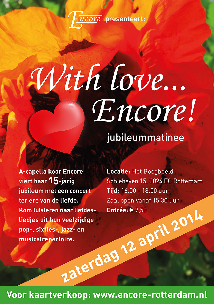 With love….Encore