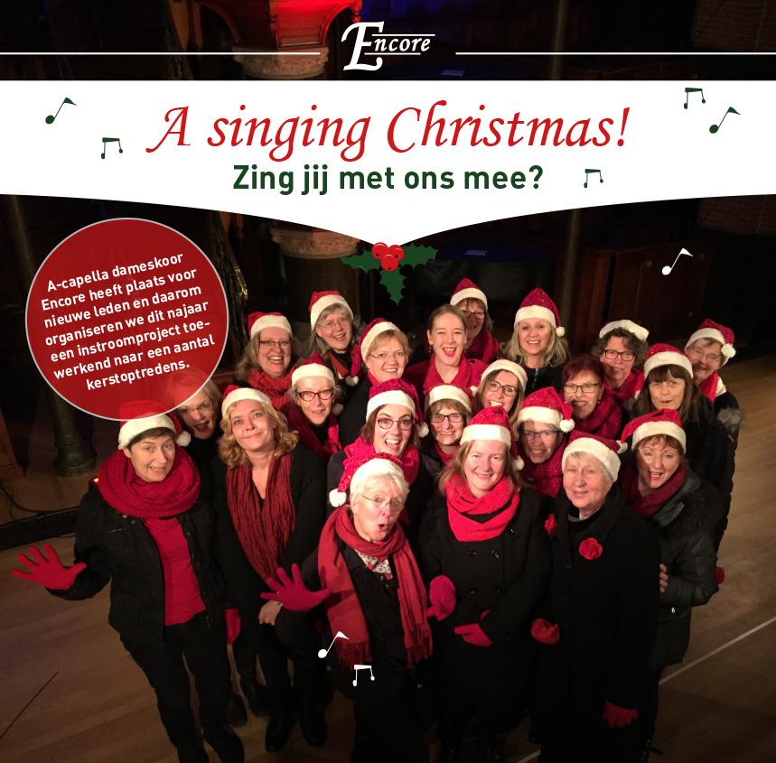 Zing jij met ons mee deze kerst?