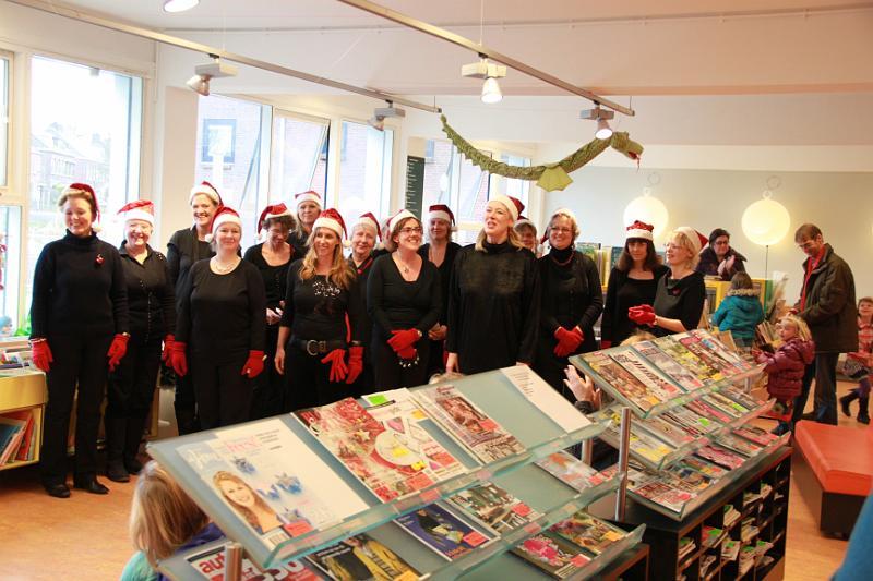 Kerst in Rotterdamse bibliotheken